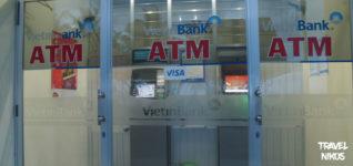 ΑΤΜ για ανάληψη χρημάτων στο Να Τρανγκ (Nha Trang), Βιετνάμ