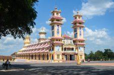 Ο ναός Κάο Ντι, Cao Dai ένα σπουδαίο αξιοθέατο
