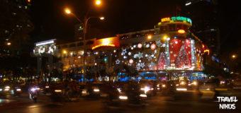 Νυχτερινή φωτογράφηση της Σαϊγκόν