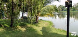 Το πάρκο Van Thanh στα βόρεια της πόλης