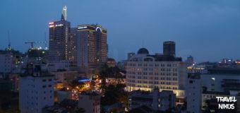 Η Σαϊγκόν την νύχτα από ψηλά, όμορφες φωτογραφίες