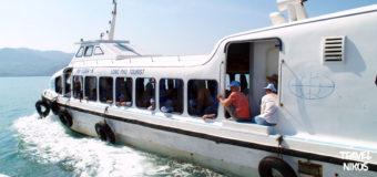 Από το εσωτερικό ενός τουριστικού επιβατικού πλοίου στο Να Τρανγκ (Nha Trang), Βιετνάμ