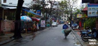 Οδός Pham Ngu Lao στο Χουέ (Hue) του Βιετνάμ