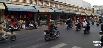 Η κίνηση στους δρόμους του Νταλάτ (Dalat), Βιετνάμ
