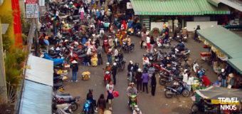 Η κεντρική αγορά στο Νταλάτ (Dalat), του Βιετνάμ