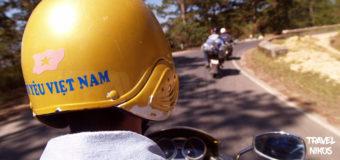 Ταξιδεύοντας με μηχανή στα περίχωρα του Νταλάτ, Βιετνάμ