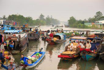 Τουρισμός στον Μεκόνγκ Δέλτα, Βιετνάμ
