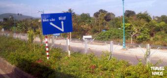 Η διαδρομή από την Σαϊγκόν στο Νταλάτ (Dalat) του Βιετνάμ