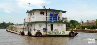 Τα ποταμόπλοια που συναντήσαμε κατά την πορεία μας στο Μεκόνγκ Δέλτα, Βιετνάμ