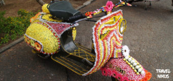 Περίεργες στολισμένες βέσπες στο Νταλάτ (Dalat), του Βιετνάμ
