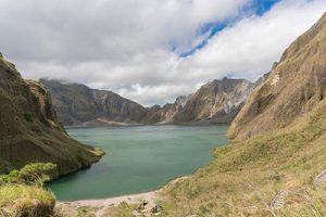 Το ηφαίστειο Pinatubo, την περιοχή Tagaytay, Φιλιππίνες