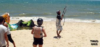 Πέταγμα με θαλάσσιο αλεξίπτωτο στο Μούι Νε (Mui Ne), Βιετνάμ