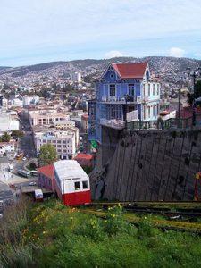 Funicular, Valparaíso Χιλή
