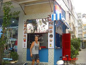 Το ελληνικό σουβλάκι στο Να Τρανγκ (Nha Trang) του Βιετνάμ