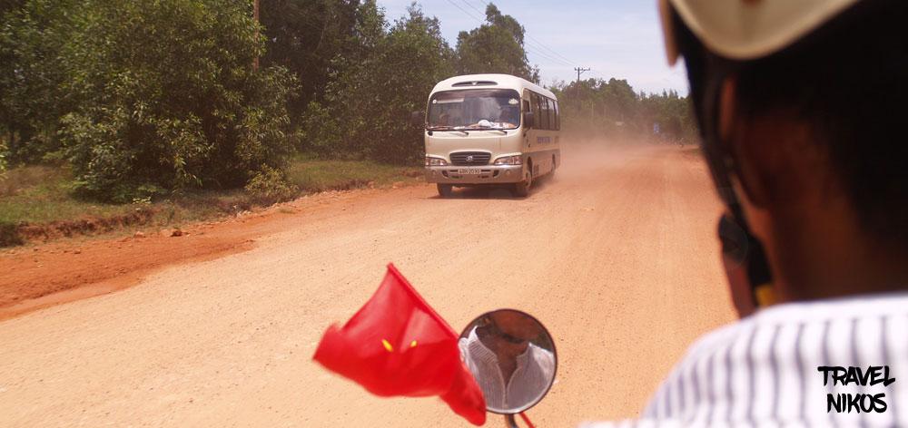 Ταξιδεύοντας με μηχανή στο νησί Phu Quo του Βιετνάμ