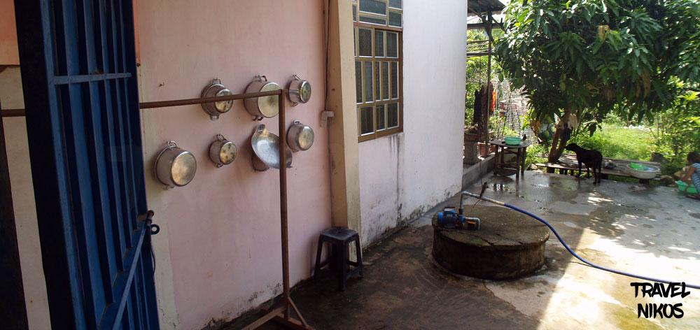 Επίσκεψη σε βιετναμέζικο σπίτι στο νησί Φου Κο, Βιετνάμ