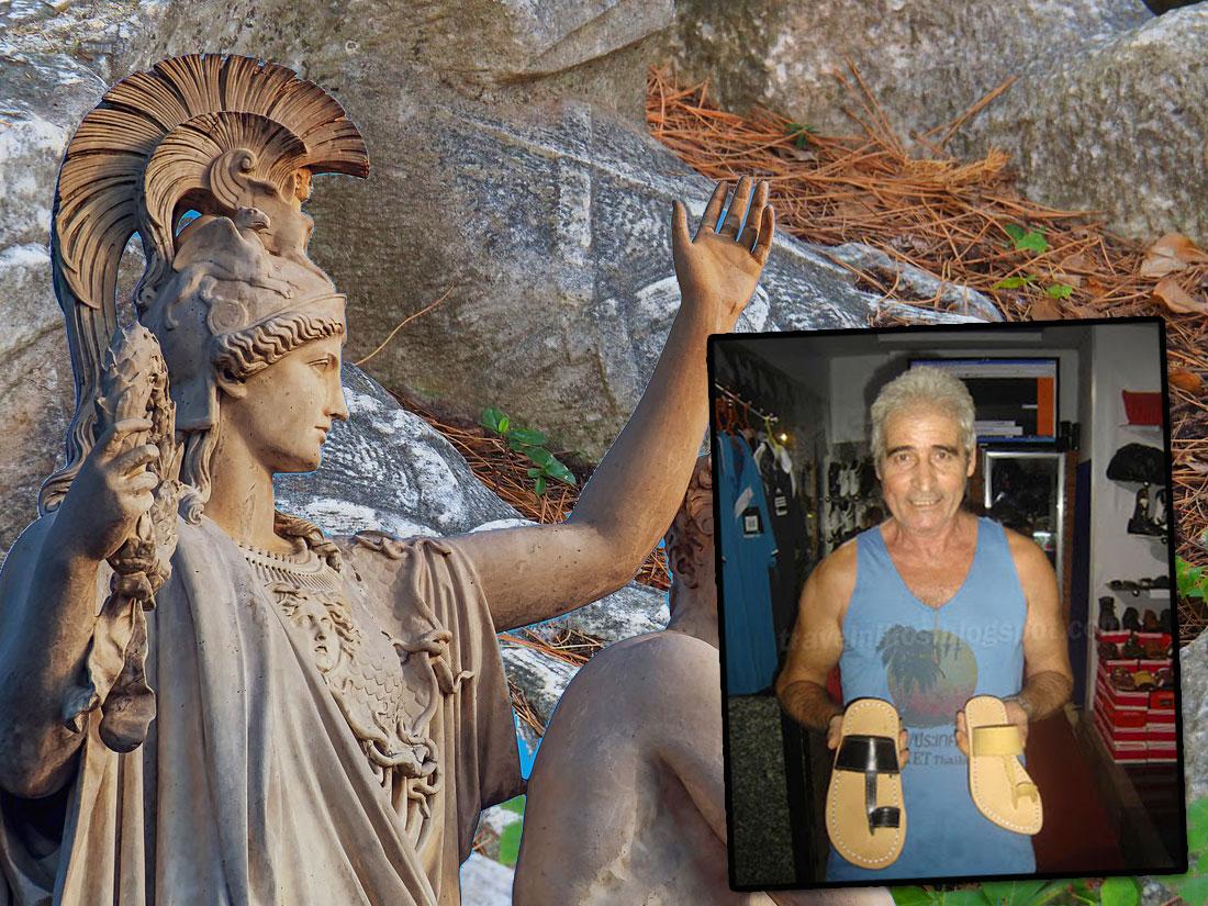Τα ελληνικά σανδάλια κάνουν θραύση στο Βιετνάμ