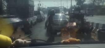 Πιστολίδι λίγο έξω από την Μπανγκόκ ανάμεσα σε αστυνομία και κακοποιό (VIDEO)