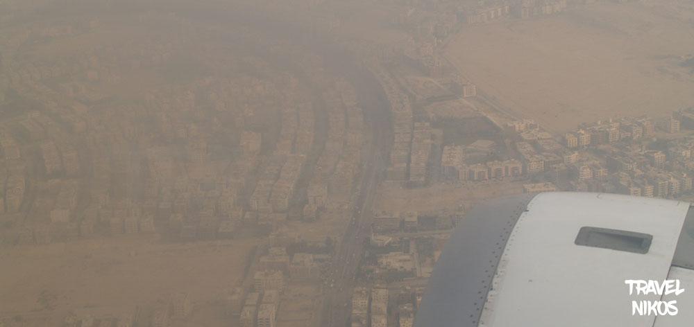 Το Κάιρο της Αιγύπτου από ψηλά