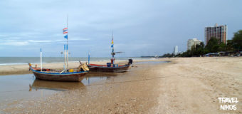 Τσα Αμ παραθαλάσσια πόλη 173 χιλιόμετρα νότια από την Μπανγκόκ