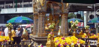 Το ιερό Έραβαν στο κέντρο της Μπανγκόκ