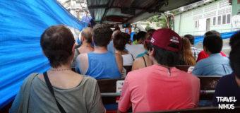 Τα πλοιάρια των καναλιών της Μπανγκόκ, Khlong Saen Saeb