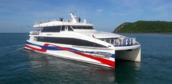 Ταξιδεύοντας με τηνLomprayah Catamaran από το Χούα Χιν στο Κο Σαμούι