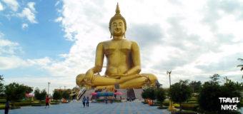 Wat Muang το μεγαλύτερο άγαλμα Βούδα της Ταϊλάνδης