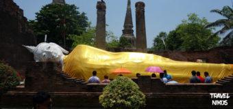 Ναός Wat Yai Chai Mongkhon στην Αγιούταγια της Ταϊλάνδης