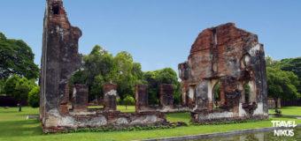 Ιστορικό μνημείο Phra Narai Ratcha Niwet στο Λόπμπουρι