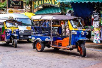 Τα Τουκ Τουκ της Μπανγκόκ