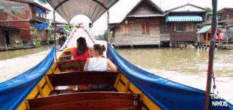 Βόλτα στα κανάλια του Τσάο Πράγια με long tail boat