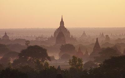 Μπαγκάν (Bagan) της Μιανμάρ (Βιρμανία)