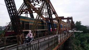 Γέφυρα Long Biên στο Ανόι του Βιετνάμ