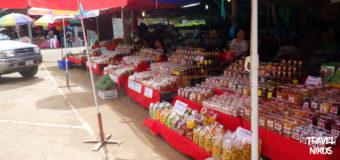 Αγορά Hmong στο εθνικό πάρκο Doi Inthanon