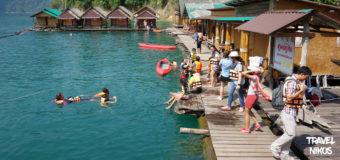 Floating Bungalows της λίμνης Khao Sok στην Ταϊλάνδη