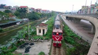 Σιδηρόδρομοι του Βιετνάμ στο κανάλι του Mars Hartdegen στο YouTube