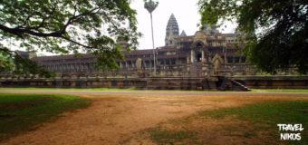 Ο ναός του Ανγκόρ Βατ στην Καμπότζη
