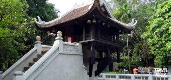 Η παγόδα του ενός πυλώνα στο Ανόι του Βιετνάμ
