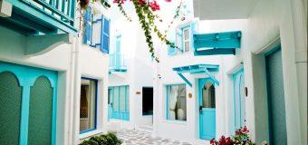 Το πάρκο της Σαντορίνης μετατράπηκε σε ξενοδοχείο Santorini Stay