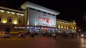 Ο σιδηροδρομικός σταθμός του Ανόι Βιετνάμ