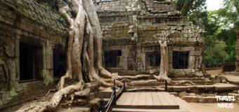 Ναός Ta Prohm στο Ανγκόρ Βατ της Καμπότζης