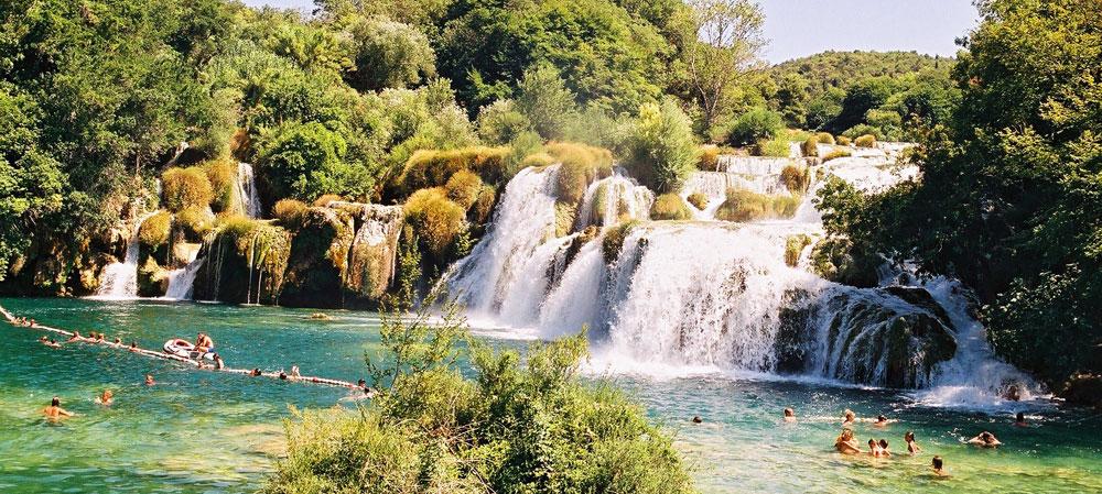 Το Εθνικό πάρκο ΚΡΚΑ στην Κροατία