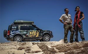 The World Off Road, Mauritania