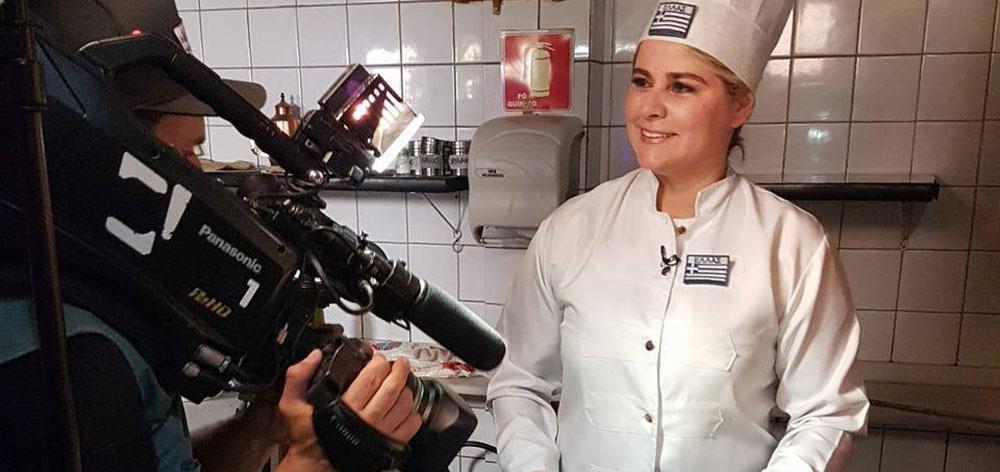 Ελληνική Πιτσαρία Gioconda Heleniká Pizza Grega στο Σάο Πάουλο της Βραζιλίας