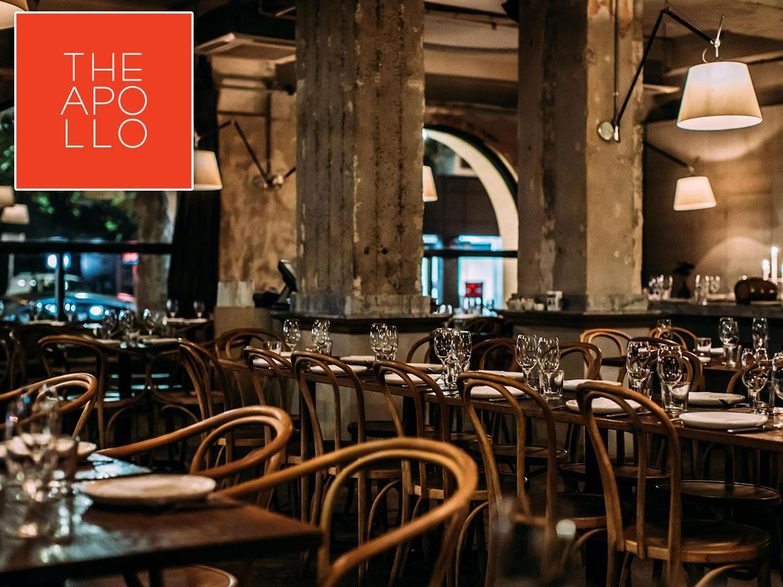Ελληνικό Εστιατόριο The Apollo στο Σίδνεϊ της Αυστραλίας