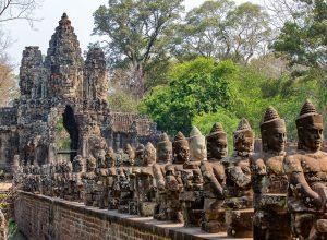 Angkor Thom Historical landmark in Siem Reap, Cambodia