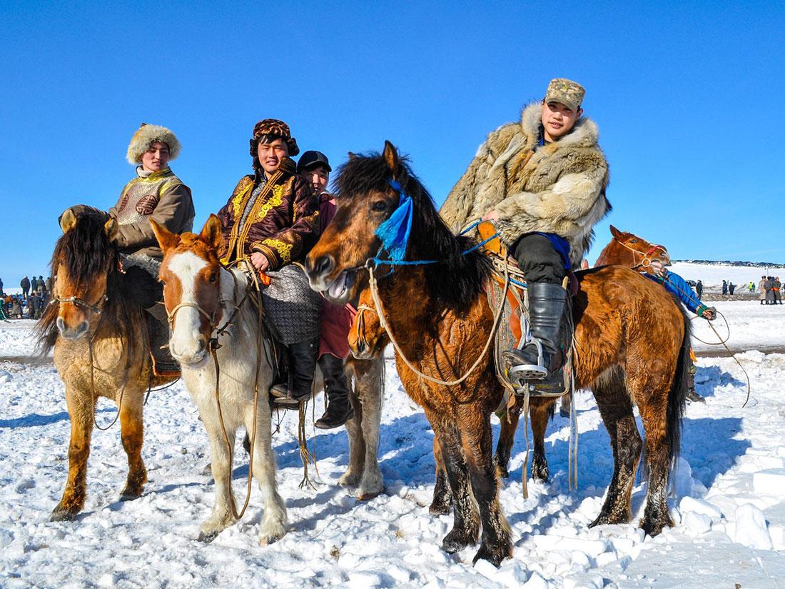 Horsemen Mongolia