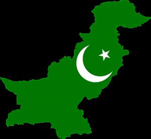 Πακιστάν Pakistan Map