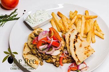 Gyros Chicken (Kebab)